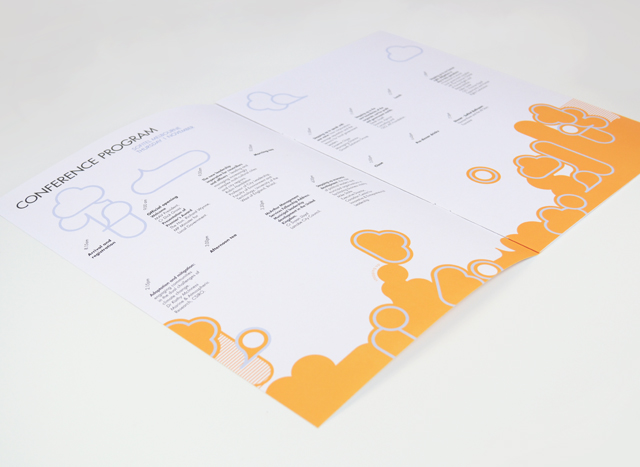MAV Stepping Up booklet spread by Hatch Creative, Melbourne