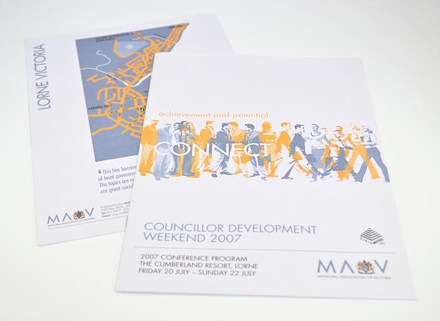 MAV conference program by Hatch Creative, Melbourne