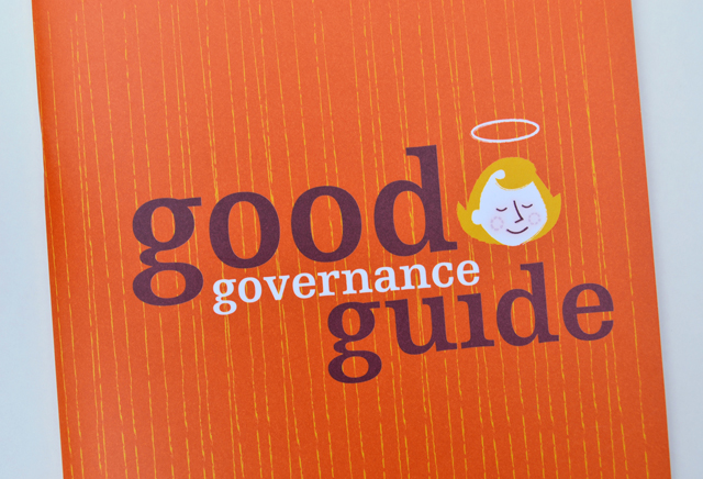 Good Governance Guide 1 by Hatch Creative, Melbourne