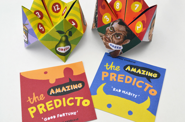 Predicto packaging. Hatch Creative, Melbourne