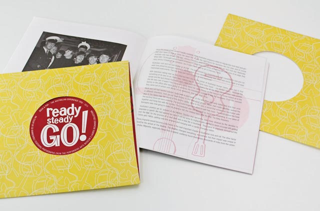 ReadySteadyGo exhibition booklet 2 by Hatch Creative, Melbourne