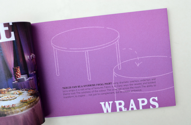 TableWrap booklet 3. Hatch Creative, Melbourne