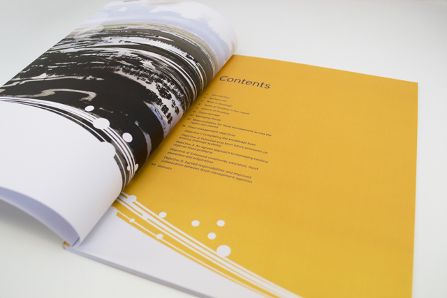 Melbourne Water strategy contents by Hatch Creative Melbourne