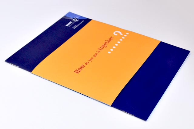 Nadavoc booklet cover by Hatch Creative, Melbourne