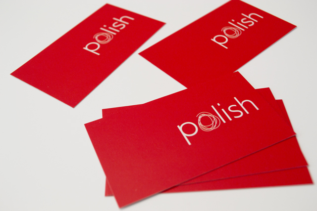 Polish cards by Hatch Creative, Melbourne