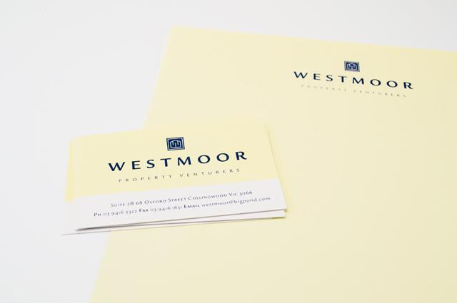 Westmoor logo by Hatch Creative, Melbourne